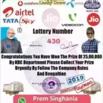 How do I check jio lucky winner