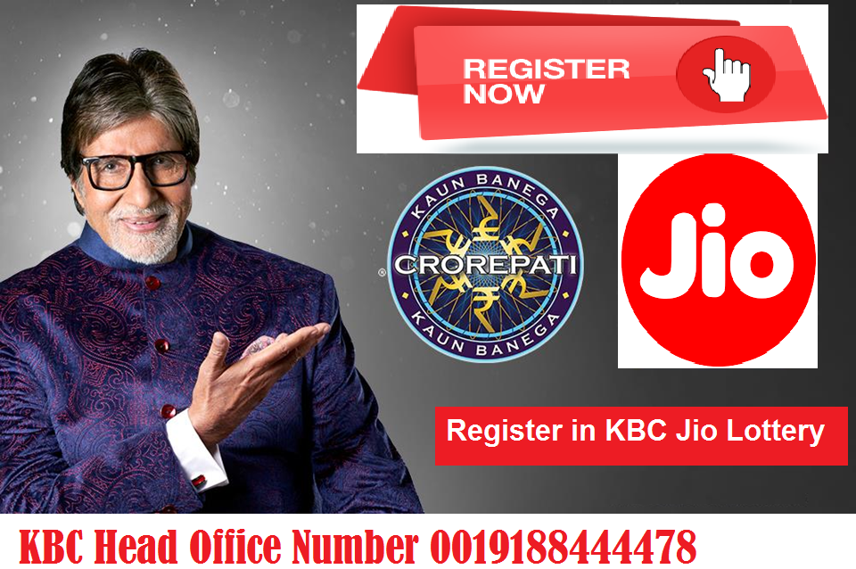 Register now in KBC Jio Lottery Draw