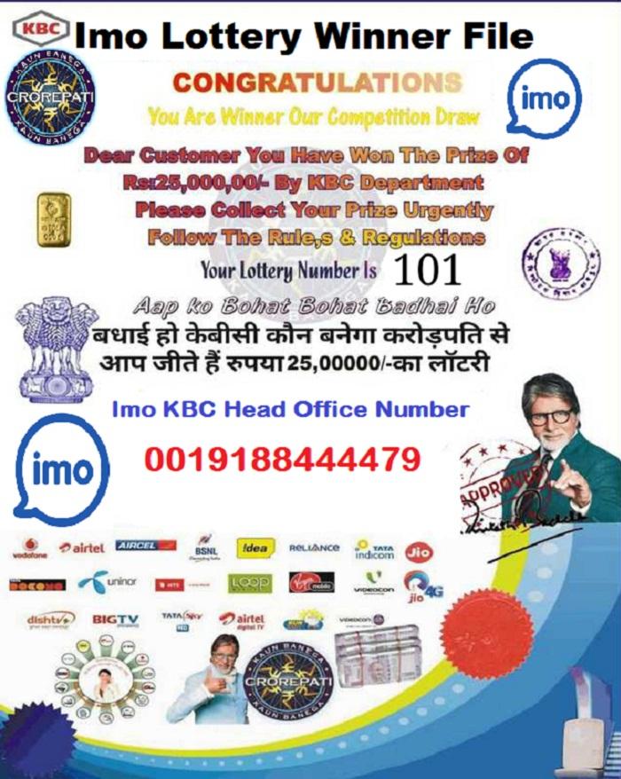 Imo Lottery Winner File